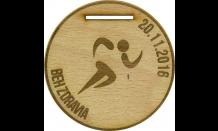 Drevená medaila Devín