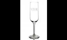 Gravírovaný pohár na šampanské 0,22L 026648