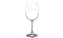 Gravírovaný pohár na víno 0,32L 026599