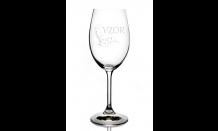 Gravírovaný pohár na víno 0,35L 026575