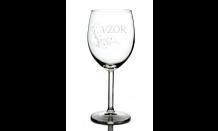 Gravírovaný pohár na víno 0,3L 026698