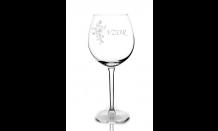 Gravírovaný pohár na víno 0,59L 026649