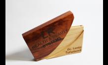 Luxusný drevený vizitkár 026521