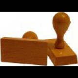 Hranaté drevené pečiatky