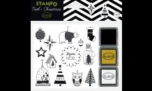 StampoNoël - Moderné Vianoce