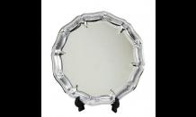Strieborný tanier Trident